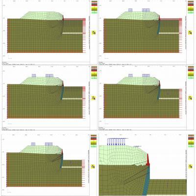 Modellierung Bauzustände FEM